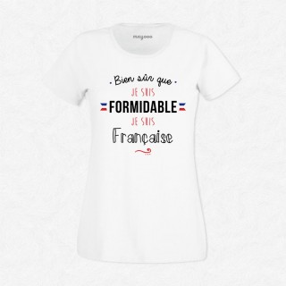 T-shirt Je suis française