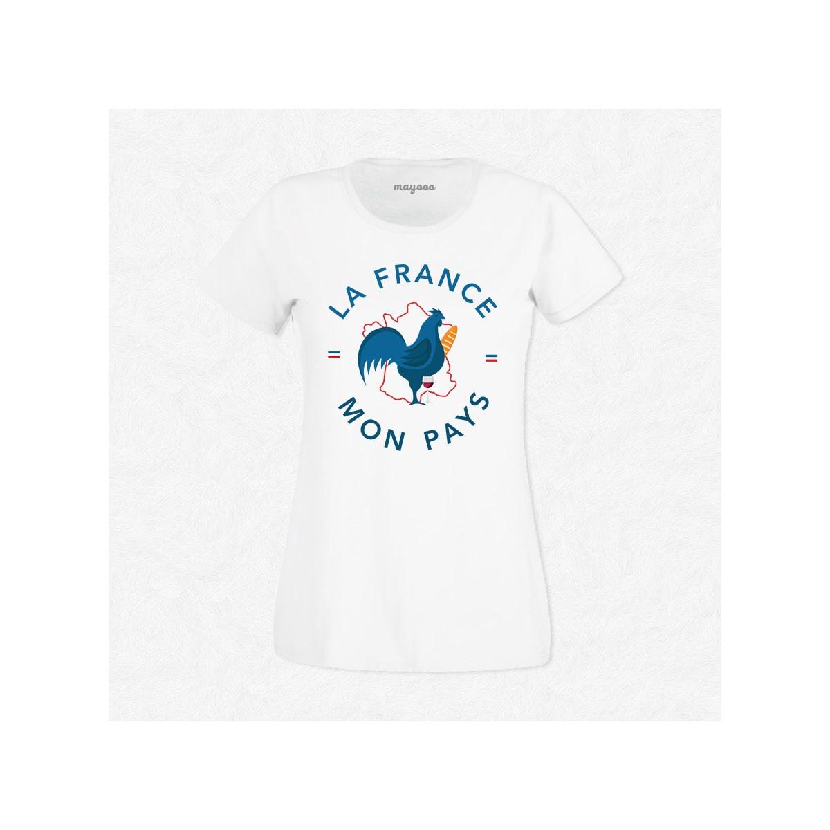 T-shirt La France, Mon pays