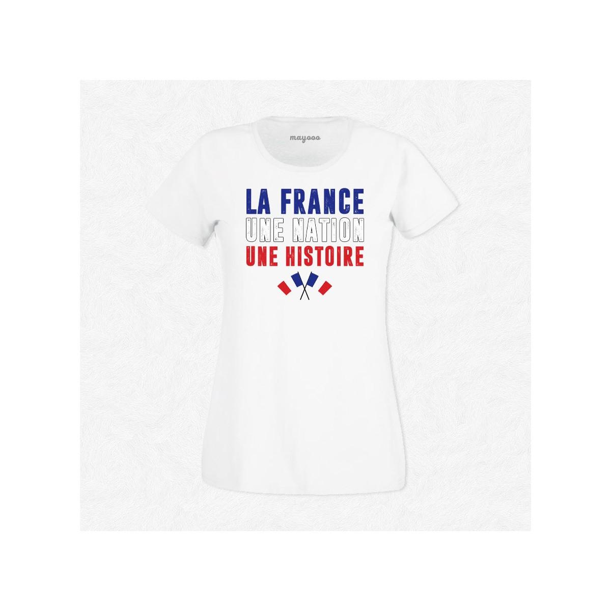 T-shirt La France, une nation, une histoire