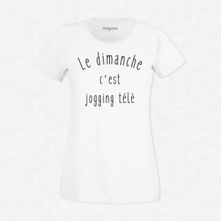 T-shirt Jogging télé