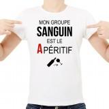 T-shirt Mon groupe sanguin