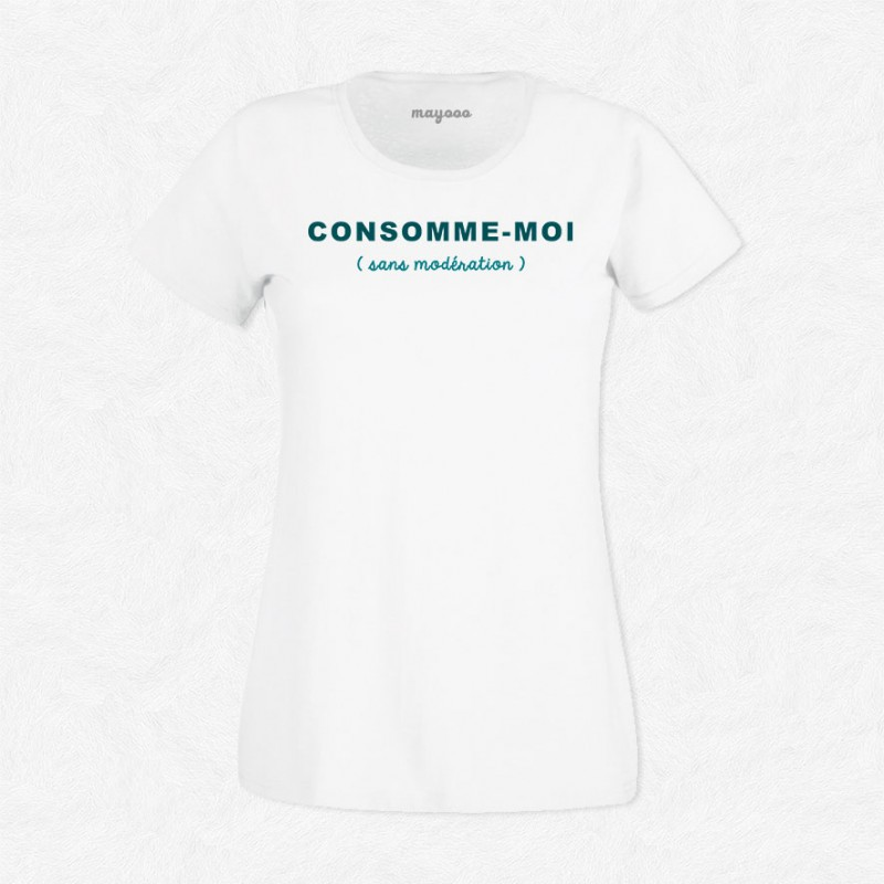 T-shirt Consomme-moi