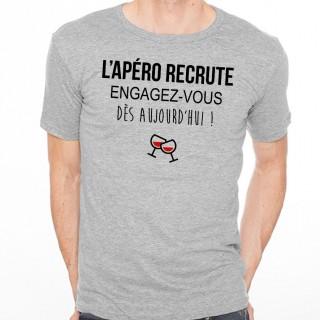 T-shirt L'apéro recrute