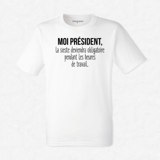 T-shirt La sieste deviendra obligatoire