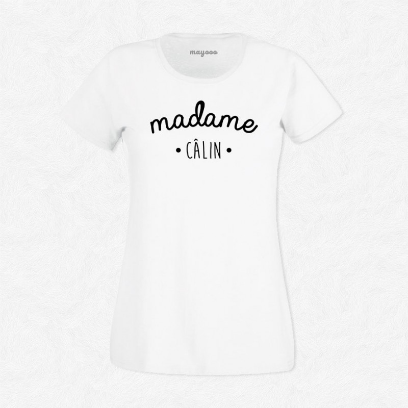 T-shirt Madame Câlin