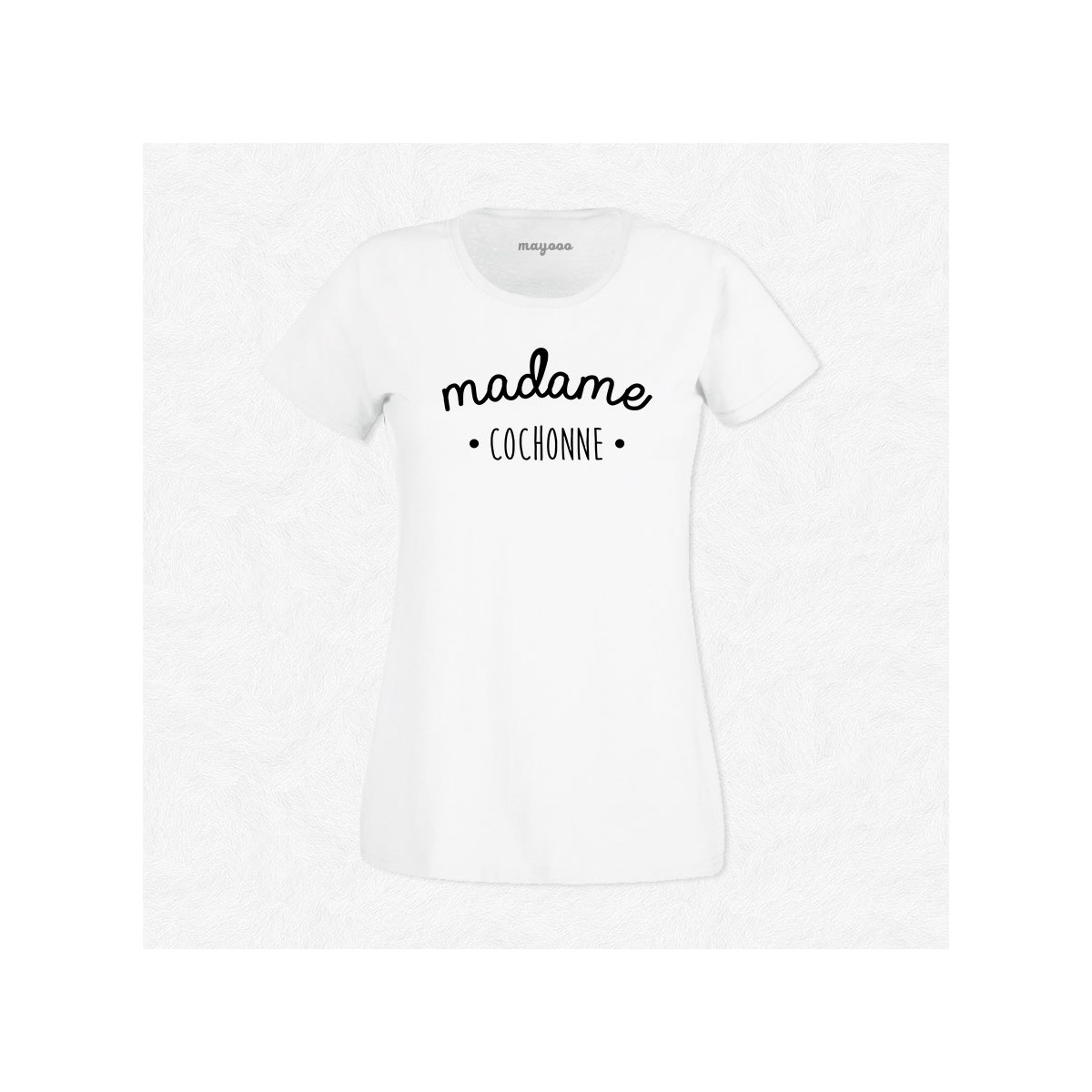 T-shirt Madame Cochonne