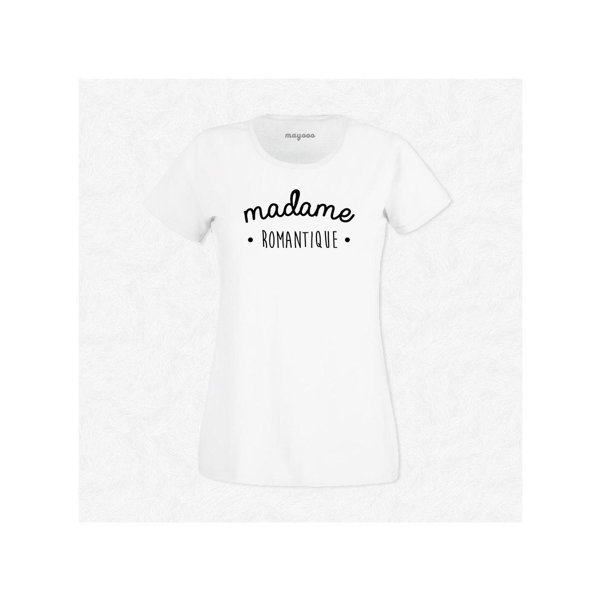 T-shirt Madame Romantique