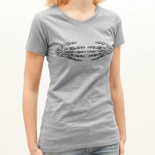 T-shirt Mains squelettes