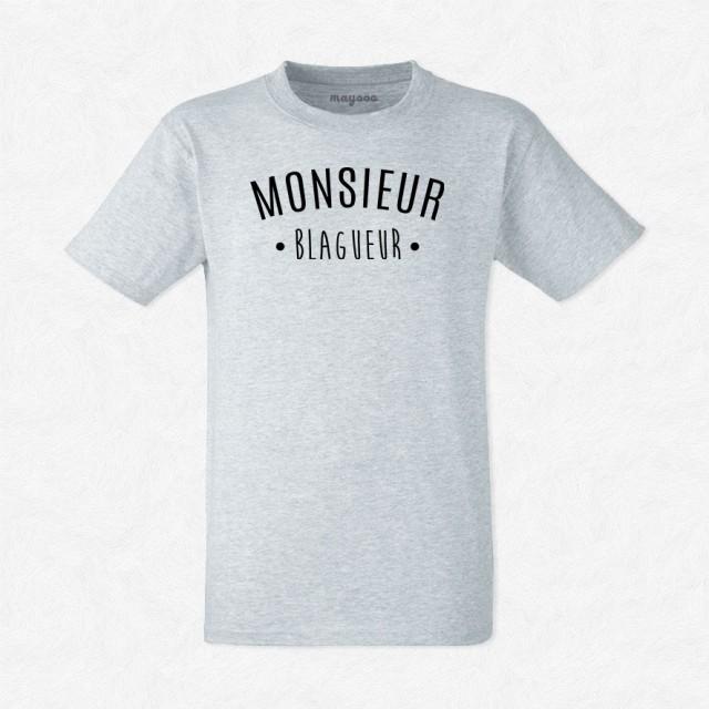 T-shirt Monsieur Blagueur