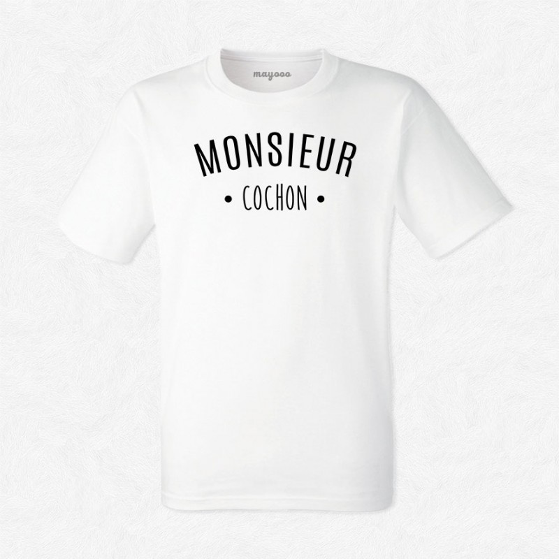 T-shirt Monsieur Cochon
