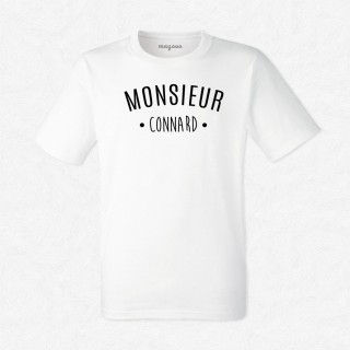 T-shirt Monsieur Connard