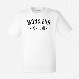 T-shirt Monsieur Don Juan