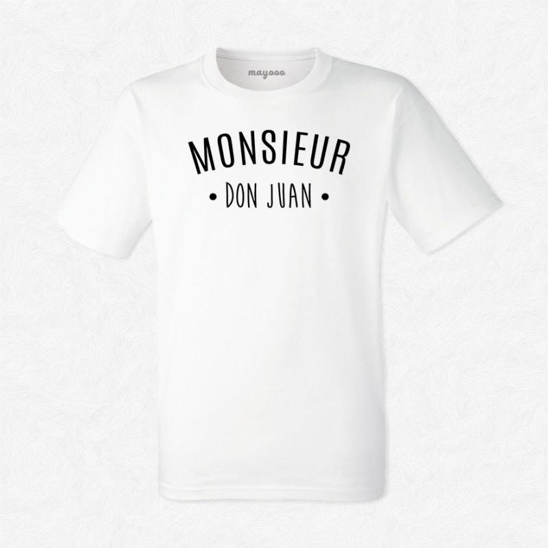 T-shirt Monsieur Don Juan