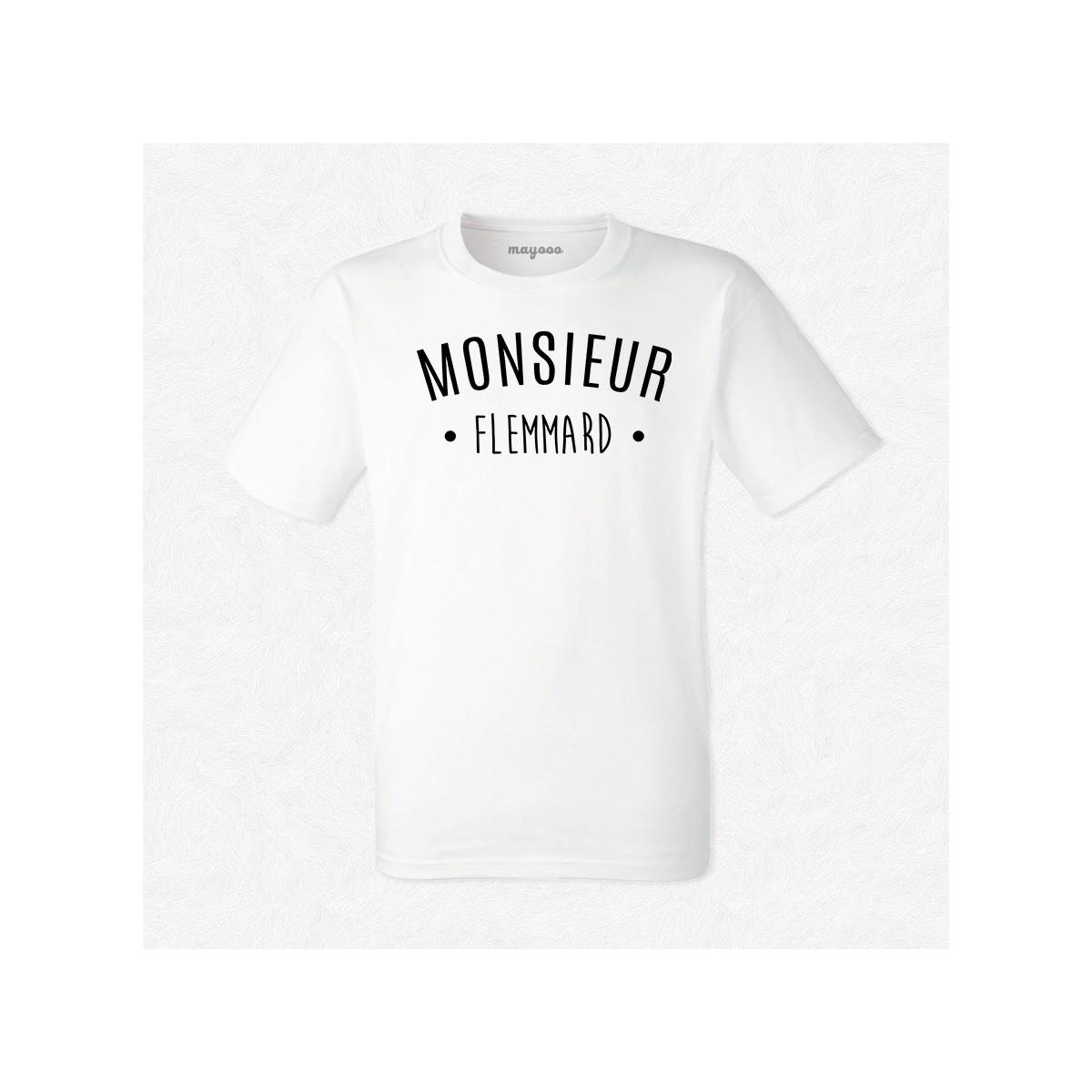 T-shirt Monsieur Flemmard