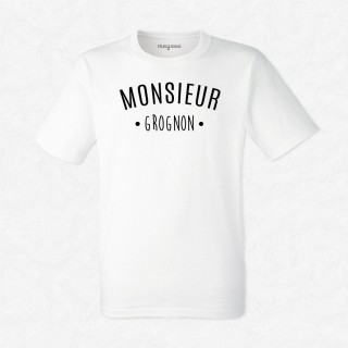 T-shirt Monsieur Grognon