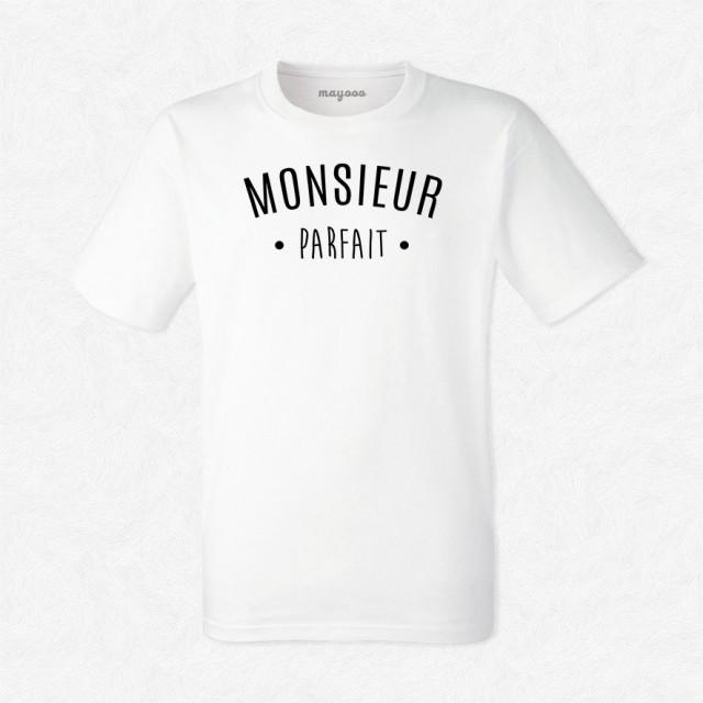 T-shirt Monsieur Parfait