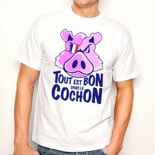 T-shirt Tout est bon dans le cochon