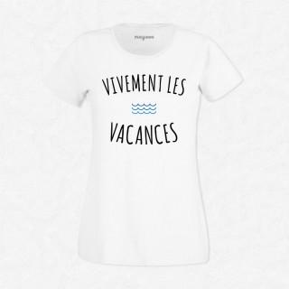 T-shirt Vivement les vacances