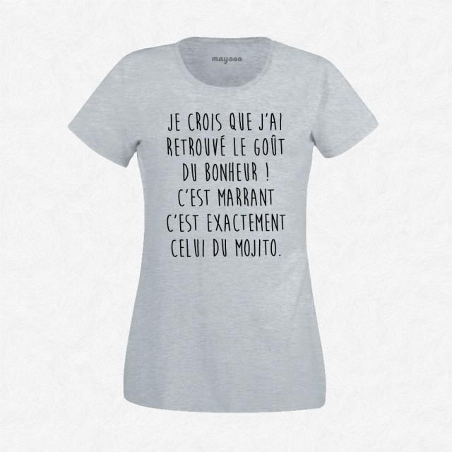 T-shirt Le goût du bonheur