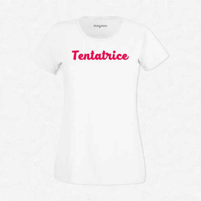 T-shirt Tentatrice
