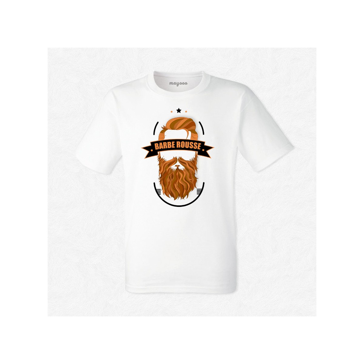 T-shirt Barbe Rousse