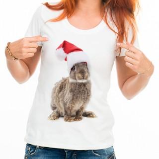 T-shirt Mon petit lapin de noël
