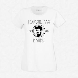 T-shirt Touche pas à mon barbu