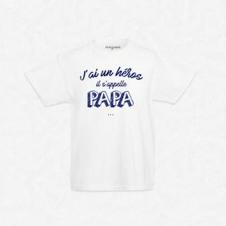 T-shirt J'ai un héros