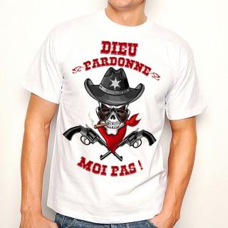 T-shirt Dieu pardonne moi pas