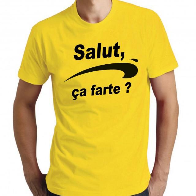 T-shirt Salut, ça farte ?
