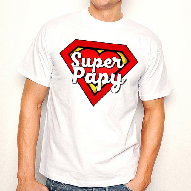 T-shirt Super papy