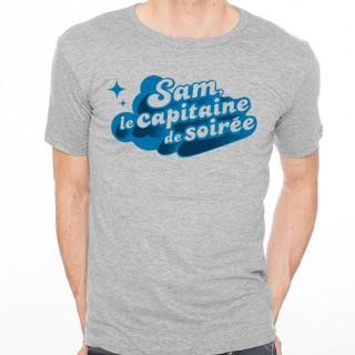 T-shirt Capitaine de soirée