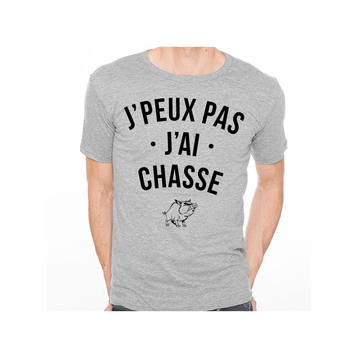 T-shirt J'peux pas j'ai chasse