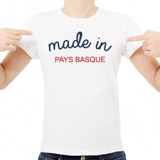 T-shirt Made in Pays Basque