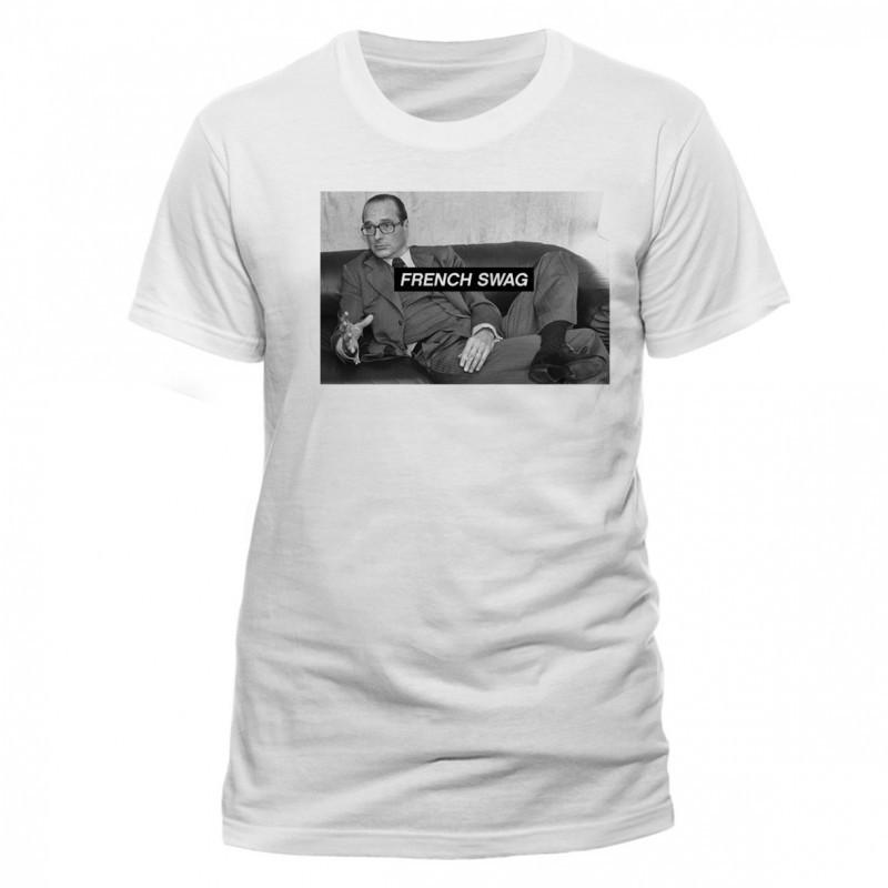 T-shirt Chirac French Swag