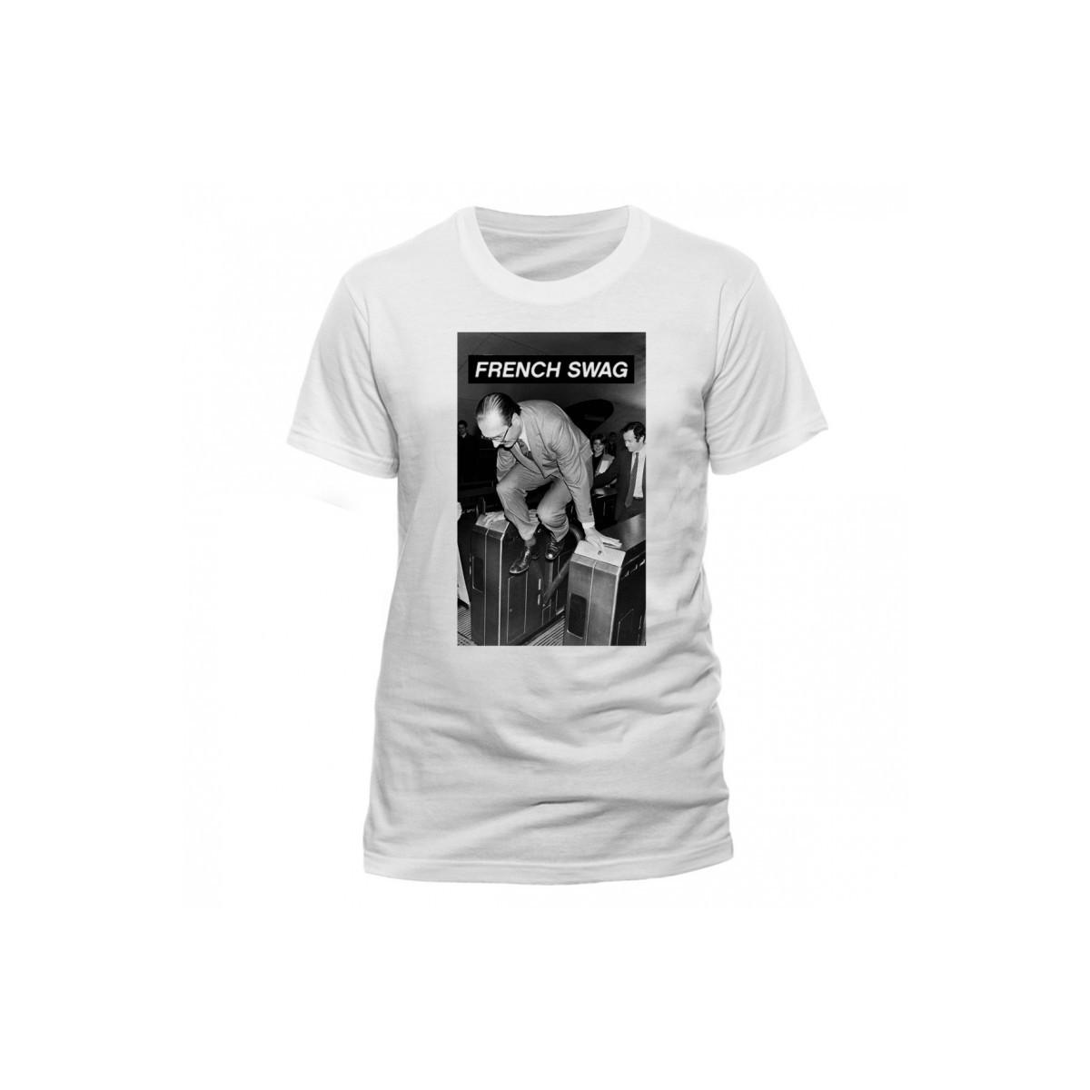 T-shirt Chirac Métro Swag