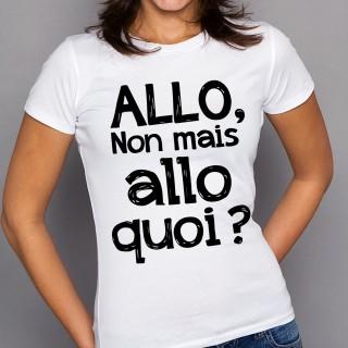 T-shirt Allo quoi