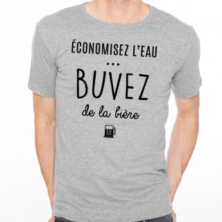 T-shirt Buvez de la bière