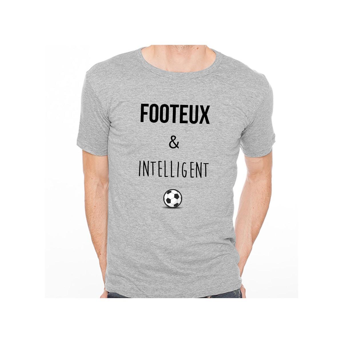 T-shirt Footeux et intelligent