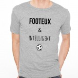 T-shirt Footeux et intelligent