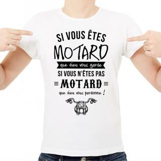 T-shirt Que dieu vous garde