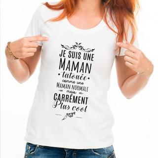 T-shirt Maman tatouée