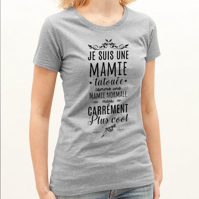 T-shirt Mamie tatouée