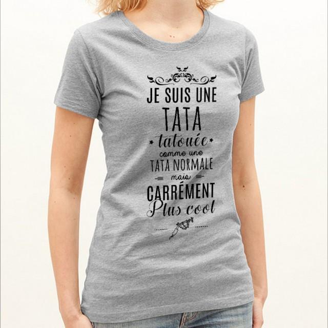 T-shirt Tata tatouée