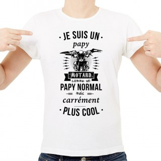 T-shirt Papy motard