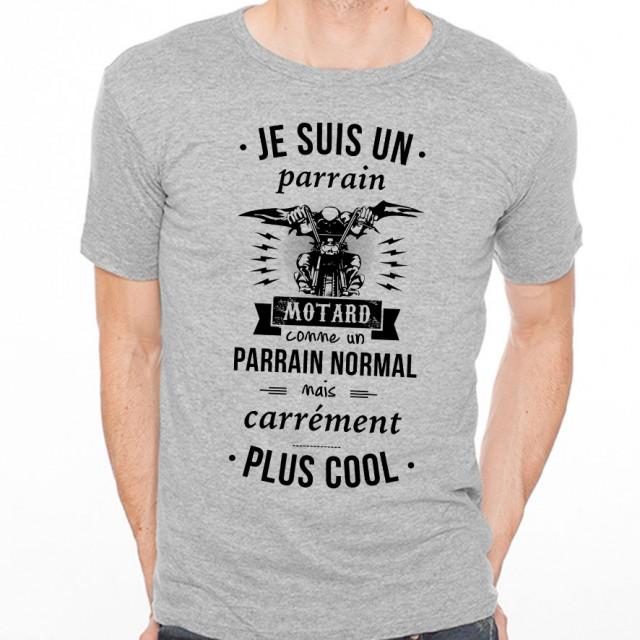 T-shirt Parrain motard