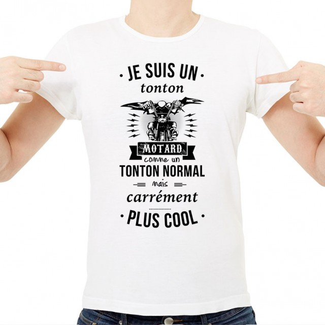 T-shirt Tonton motard