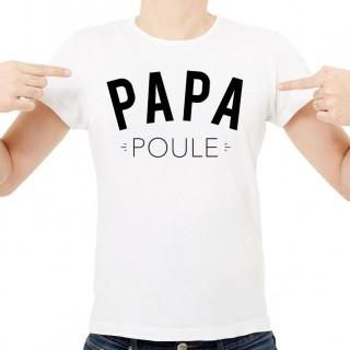 T-shirt Papa poule
