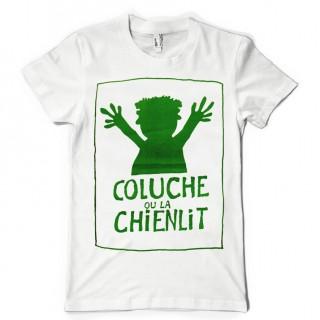 T-shirt Coluche ou la chienlit