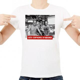 T-shirt Chirac  Les copains d'abord